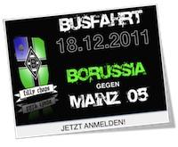 Weihnachtsfahrt gegen Mainz 05 – 18.12.2011