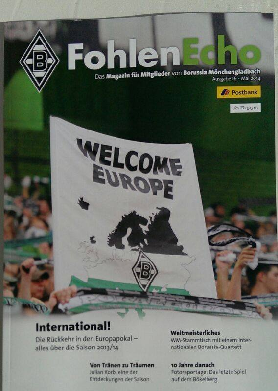 Filly Chaps auf dem Cover des Fohlen Echo Welcome Europe