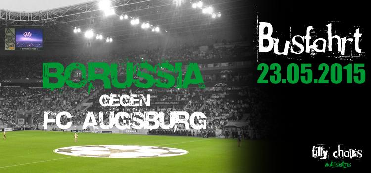 Informationen zur Busfahrt gg. Augsburg am 23.05.2015