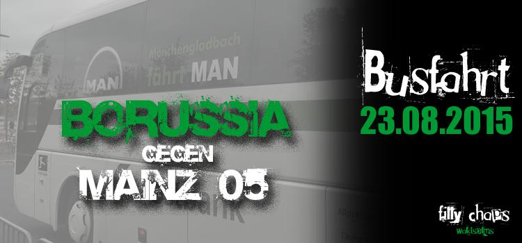 Letzte Infos zur Busfahrt gegen Mainz