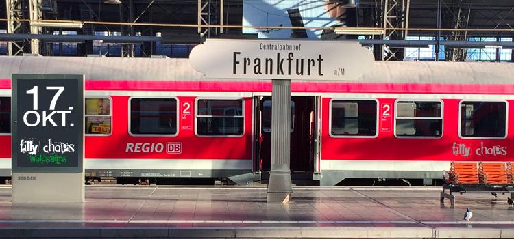 Mit dem Zug zum Auswärtsspiel nach Frankfurt am Main