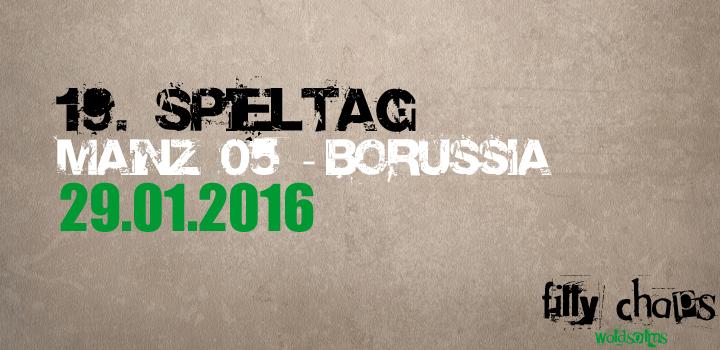 Karten für das Auswärtsspiel in Mainz am 29.01.2016
