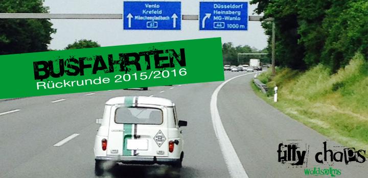 Busfahrt am 7. Mai: Borussia gg. Leverkusen