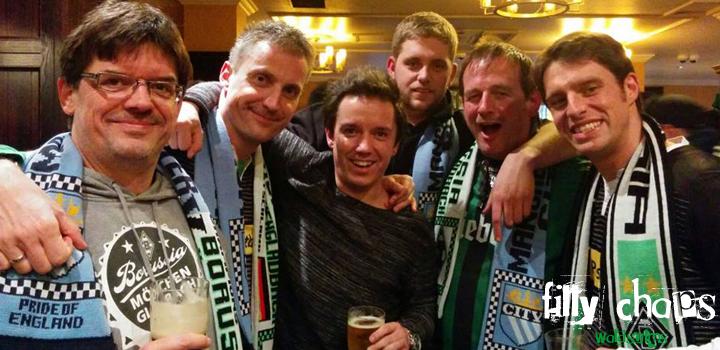 Filly Chaps Waldsolms zum Auswärtsspiel in Manchester