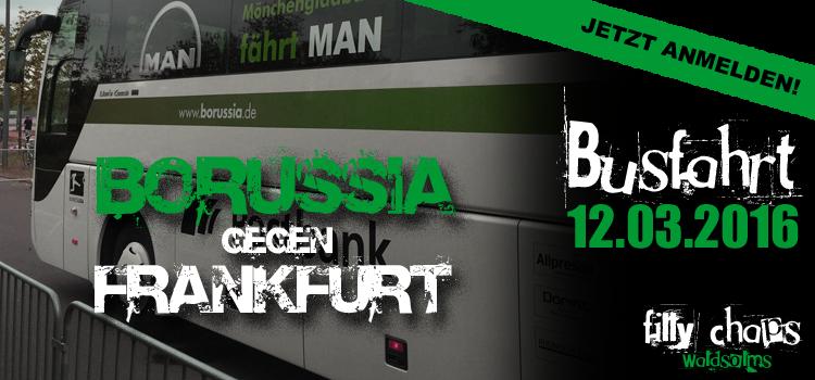 Fanclub Busfahrt gegen Eintracht Frankfurt