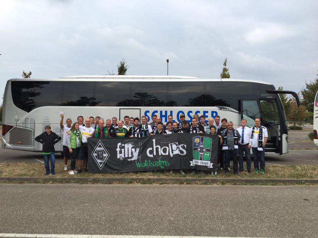 Fill Chaps beim Heimspiel gegen Werder Bremen
