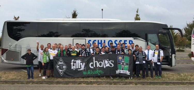 Busfahrt zum 1. Heimspiel gegen Bayer Leverkusen